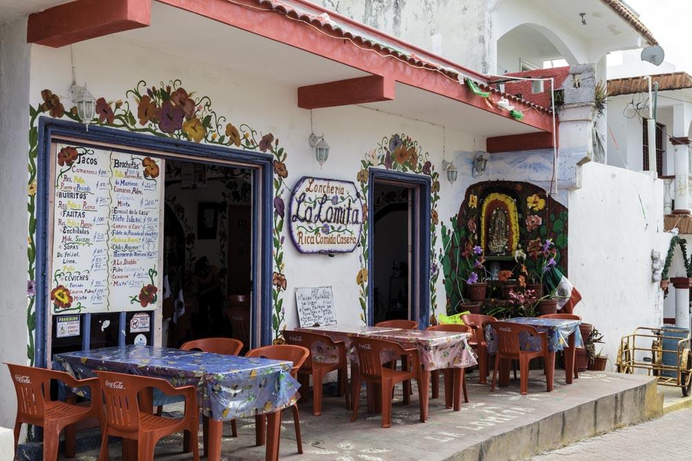 Restaurant in Isla Mujeres