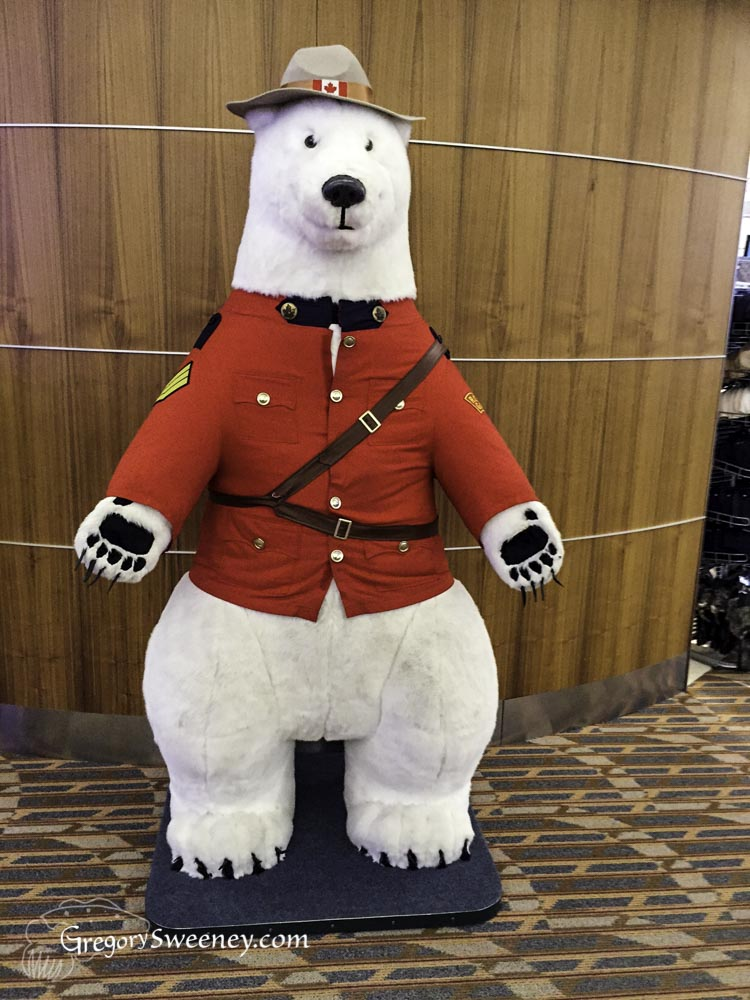 polar bear mountie
