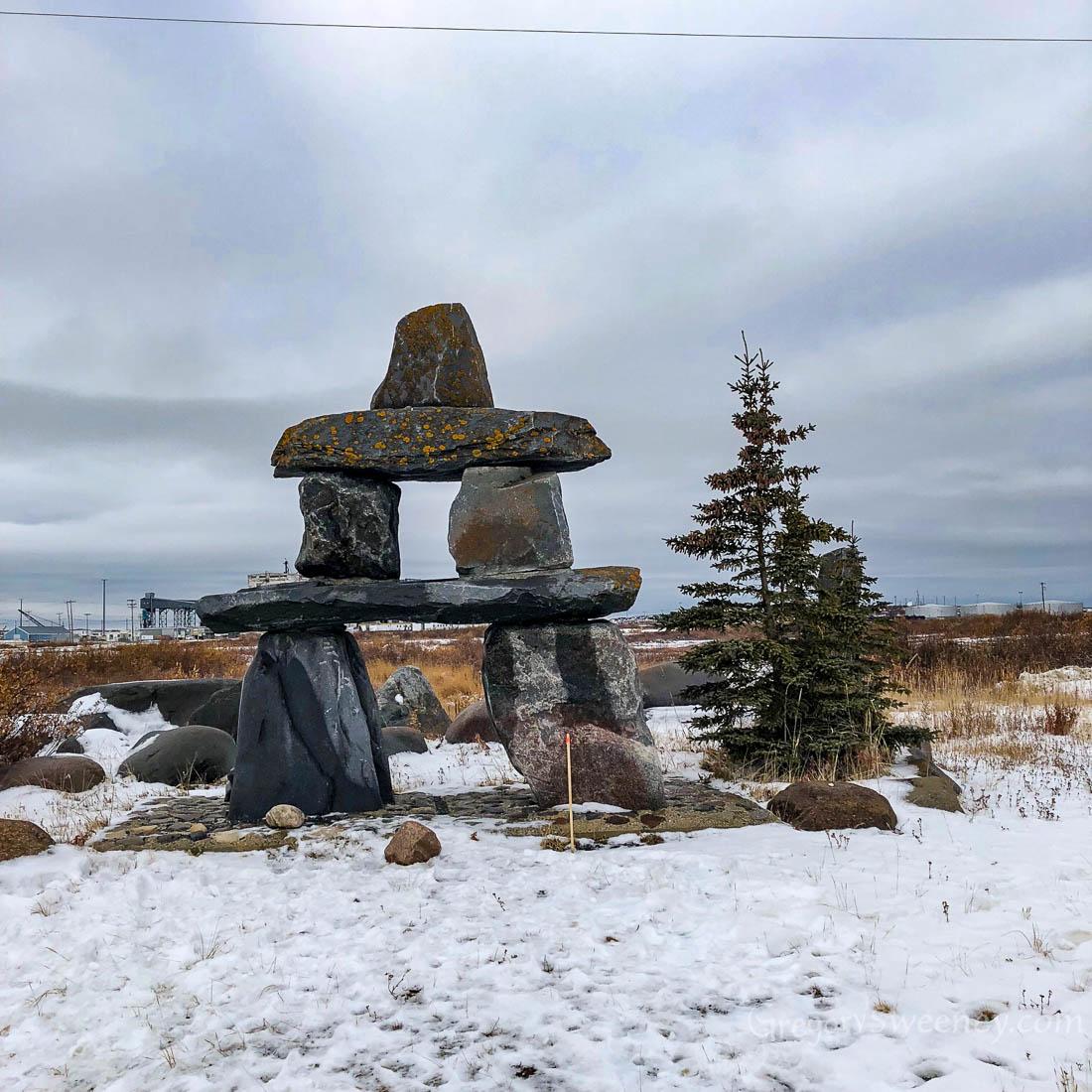 Rock formations Churchill