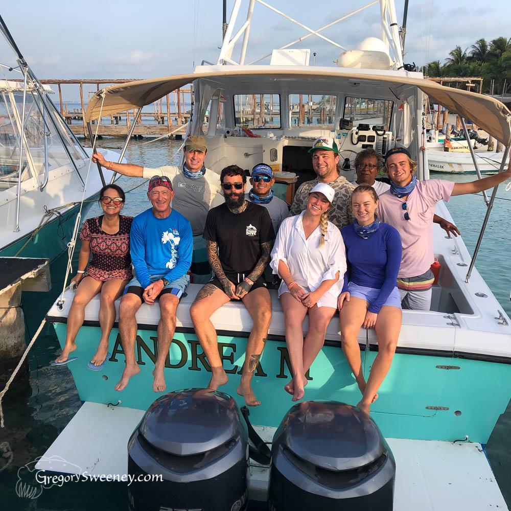 Isla Mujeres Whale Sharks